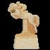 Trophée Pierre du Gard 1250 Equitation-Saut d'obstacle 16 cm