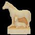 Trophée Pierre du Gard 1251 Cheval - Jument-Poulain 13 cm
