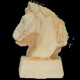 Trophée Pierre du Gard 1803 Tête de cheval 28 cm