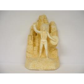 Trophée Pierre du Gard 1678 Indien 23 cm