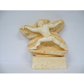 Trophée Pierre du Gard 1775 Escrime 24 cm