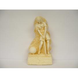 Trophée Pierre du Gard 1741 Golf Femme 28 cm
