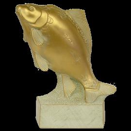 Trophée Pierre du Gard 1829BR Carpe Bronze doré 29 cm