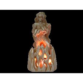 Lampe d'Ambiance Pompier 30 cm coloris Métal