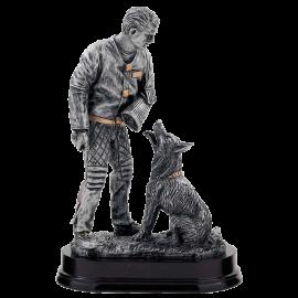Trophée résine Concours Canin RCI 30 cm PCM336