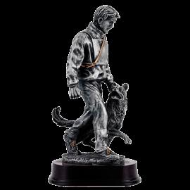 Trophée résine Concours Canin Dressage/Obéissance PCM1149 (3 tailles)
