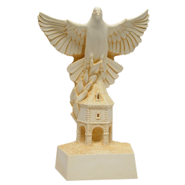 Trophée Pierre du Gard 1467 Colombophile 27 cm