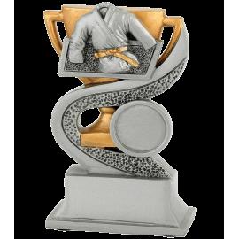 Trophée résine Judo/Karaté FG910  12 cm