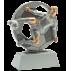 Trophée résine Football PCM1490  8 cm