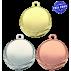 Lot de 100 médailles MM1061 Ø32 centre Ø25