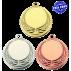 Lot de 100 médailles MM1062 Ø40 centre Ø25