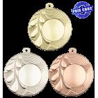 Lot de 100 médailles MM1653 Ø50 centre Ø25