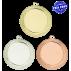 Lot de 50 médailles MM1674 Ø70 centre Ø50