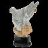 Trophée résine Colombophile / Pigeon FG1642 (3 tailles)