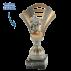 Trophée Luxe SL1605 (3 tailles - Sujet résine)