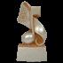 Trophée Pierre du Gard 1418 Musique 15,5 cm