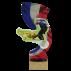 Trophée Acryglass Concours canin RCI 59411 (3 tailles)