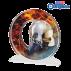 Trophée Acryglass ACTW0200M9 Pompiers (3 tailles)