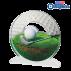 Trophée Acryglass ACTW0200M6 Golf 2 (3 tailles)