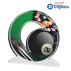 Trophée Acryglass ACTW0200M4 Billard  (3 tailles)