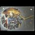 Horloge en ardoise Pompiers 2770 Pompier-Enfant