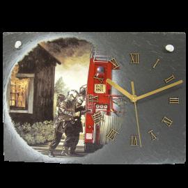 Horloge en ardoise Pompiers 2770 Feux de maison