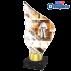 Trophée Acryglass AKEA0001M14 Judo-Karaté