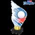 Trophée Acryglass AKEA0001M26 Ping-Pong