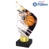 Trophée Acryglass AKEA0001M8 Basket-Ball