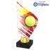 Trophée Acryglass AKEA0001M3 Tennis