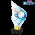 Trophée Acryglass AKEA0001M17 Natation