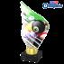 Trophée Acryglass AKEA0001M6 Billard