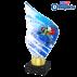 Trophée Acryglass AKEA0001M21 Descente