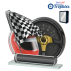 Trophée Acryglass ACTS0200M14 Sports mécaniques