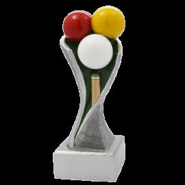 Trophée résine Billard FG1721 (3 tailles)