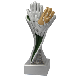 Trophée résine Gardien de but  FG1730 (H.15 cm)