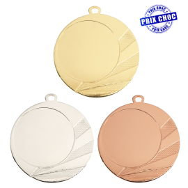 Médaille MM1705 Ø70 centre Ø50
