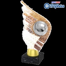 Trophée Acryglass AKEA0001M26 Pétanque
