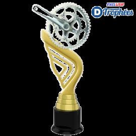 Trophée Acryglass ACTA0001M19 Cyclisme