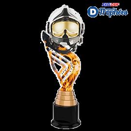 Trophée Acryglass ACTA0001M22 Pompier design