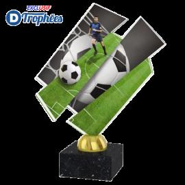 Trophée Acryglass ACZM01 Football