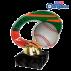 Trophée Acryglass ACL2102M22 Base-Ball