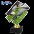 Trophée Acryglass ACZM38 Rugby