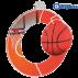 Lot de 50 médailles MDA0010 Basket-Ball