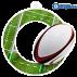 Lot de 50 médailles MDA0010 Rugby
