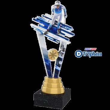 Trophée Acryglass ACUTSM4 Ski de Fond