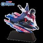 Trophée Acryglass FAZM3 Snowboard