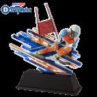 Trophée Acryglass FAZM1 Ski Alpin Masculin