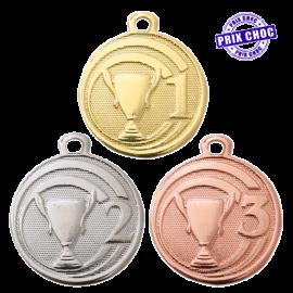 "Médaille sportive ""Podium"" Ø32"