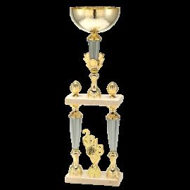 Coupe-Trophée sportif Prestige P1605 (3 tailles - Centre Ø25)